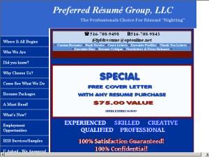 Preferred Resume Group Llc  Preferred Resume Group